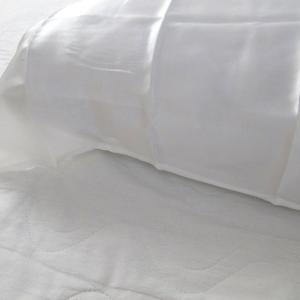 シルクのナイトキャップは無理そうなので枕カバーを試してみました♪