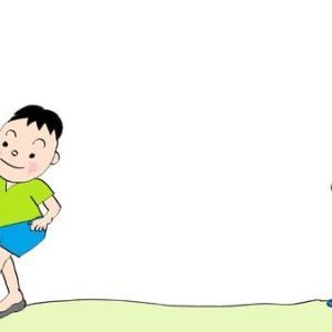 格助詞 ⑧「公園で サッカーをします」「汗で めがいたいです」 場所「で」原因「で」