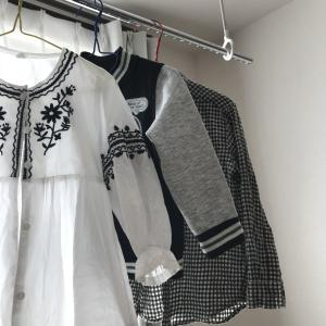 【チェックポイント付き!】買いすぎ防止にも!子ども服の整理と、シンプルな衣替え