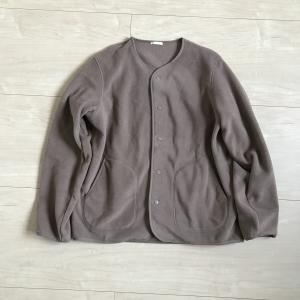 【ママの服】GUメンズのフリースカーディガンが軽くて暖かくて最高!!
