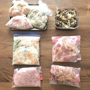 今週の下味冷凍と、使い勝手抜群の自家製ミックス野菜