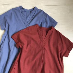 【ミニマリストママの服~初秋~】半額ワンピース2枚買い足しました