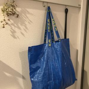 【玄関】150円で、かさばる外遊びグッズを収納する【無印良品のエコバッグが使える!】