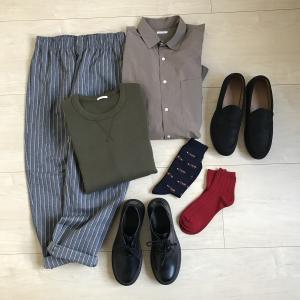 【GU】夫の服を全身コーデで購入しました