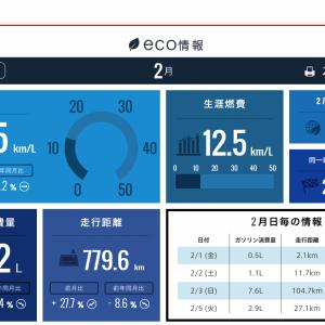 ステップワゴンスパーダ2015型 RP3 燃費報告(2019年2月)