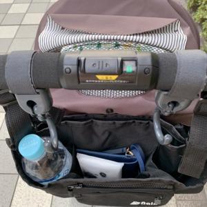 ベビーカーバッグを使ってみた