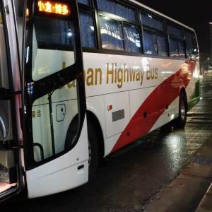 #245  名古屋から福岡までバスで移動してみた。(2019.12)