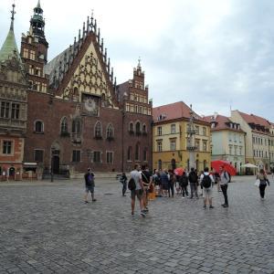 2019年夏ポーランド旅行 小人の国ヴロツワフ2