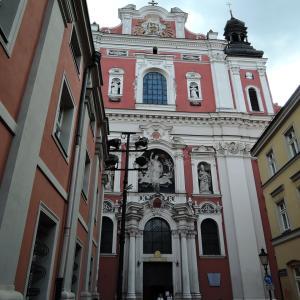 ポーランド・最古の都市ポズナニ 3 教区教会とピエロギの夕食