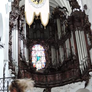 ポーランド・港町グダニスク5 オリフスキ公園とオリーヴァ大聖堂