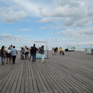 ポーランド・港町グダニスク6 バルト海を見にイェリトコボとソポトへ
