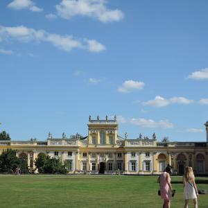 2019年夏ポーランド旅行 首都ワルシャワ5 ヴィラヌフ宮殿と庭園