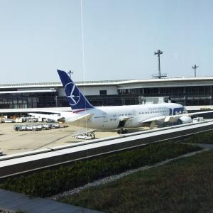 2021年日本→ブルガリア2 成田空港・ANAラウンジ