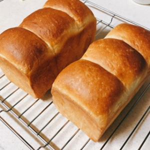 【手ごねパン】食パンとオーヤマくんでハードパン