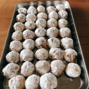 【ならいごと】お菓子教室『キャラメルナッツスノーボール』