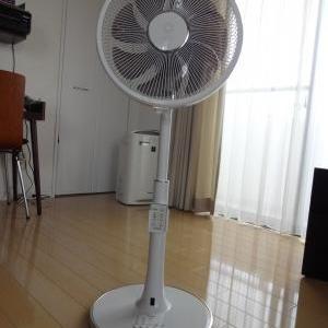扇風機を買い換えました。