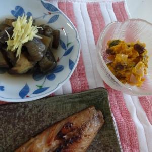 野菜がメインの夕食