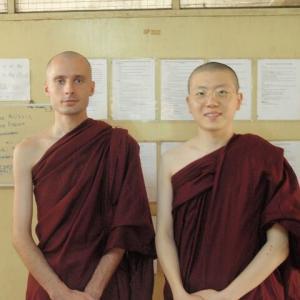 2019 ミャンマー瞑想道場ジプシー日記 65日目 ロシア人の黄色い法衣 5月11日(土)
