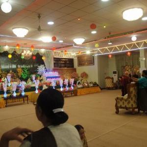 2019 ミャンマー瞑想道場ジプシー日記 72日目 お釈迦様誕生イベント 5月18日(土)