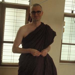 2019 ミャンマー瞑想道場ジプシー日記 98日目 気前の良いドイツ人僧侶 6月13日(木)