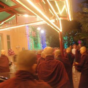 2019 ミャンマー瞑想道場ジプシー日記 310日目 最後の仏教行事  2020年1月11日(土)