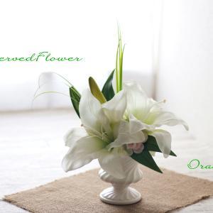 お供え花お渡ししました。