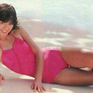 石川秀美・80年代アイドルのピチピチ水着画像