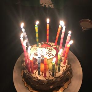 お誕生日おめでとう〜。