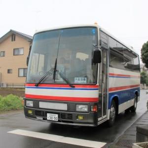 旅行バス出発