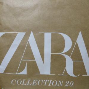 ZARA 購入品と 年バス 抽選結果
