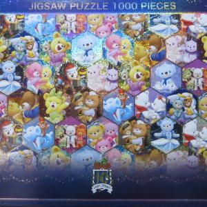 ユニベアシティのジグソーパズル