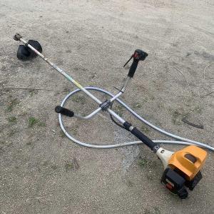 リョービの草刈り機修理完了!