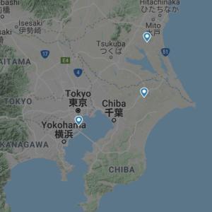 東京の空から飛行機がなくなった