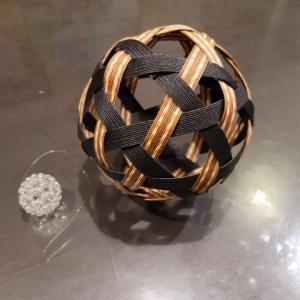エコクラフト 切頂二十面体(サッカーボール)