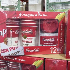 コストコで即買い!お洒落で美味しいキャンベルのインスタントコーンポタージュ