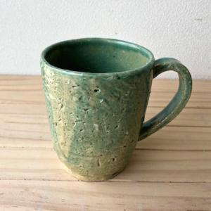お気に入りのカップ〜青ガラス〜