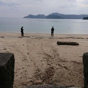 母を偲びながら・・・ホノホシ海岸にて思い出作り!奄美大島の旅。2日目