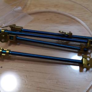 チタン製の延長器具。