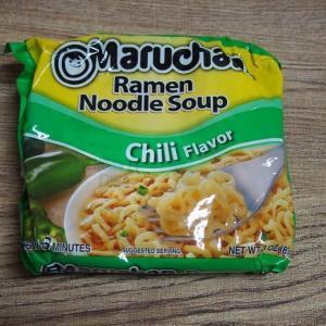 【アメリカ】MARUCHAN USA - Chili 味【旅行気分?】