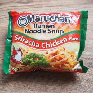 【アメリカ】MARUCHAN USA - Sriracha 味【旅行気分?】