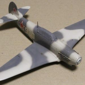 1/48 Yak-7DI & I-16 Type24 その8