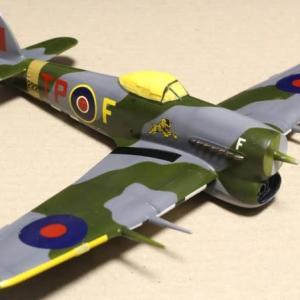 1/48 Monogram Hawker Typhoon その5