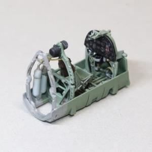 1/48 タミヤSpitfire Mk.Ⅰ その2