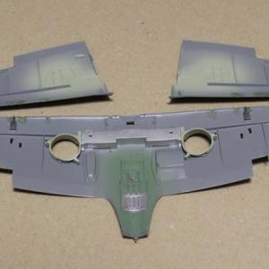 1/48 タミヤSpitfire Mk.Ⅰ その3