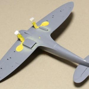 1/48 タミヤSpitfire Mk.Ⅰ その4