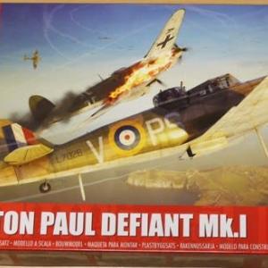 1/48 Boulton Paul DEFIANT Mk.Ⅰ その1