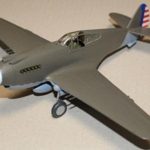 1/48 P-40B Tomahawk その8
