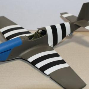 "1/48 P-51B ""Blue Nose"" その8"