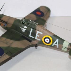 1/48 Tamiya Hawker Hurricane Mk.Ⅰ (4)完成