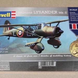 1/72 Revell Westland Lysander Mk.Ⅱ(1)